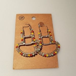 Earthbound Beaded Boho Earrings